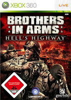 Brothers in Arms: Hell's Highway (Microsoft Xbox 360, 2008, DVD-Box)