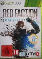 Red Faction: Armageddon (Microsoft Xbox 360, 2011, DVD-Box) OVP