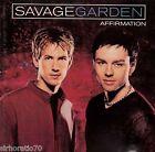 SAVAGE GARDEN Affirmation OZ CD 1999 + Bonus Track