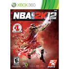 NBA 2K12 (Microsoft Xbox 360, 2011)