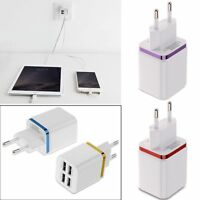 4 Port USB Power AC Adapter Home Wall Charger Plug fr iPhone 6 5 Samsung iPad LG