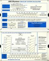 Cold War Slide Rule  ARGO Systems ELINT ESM Calculator