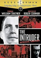 The Intruder (DVD, 2007) RARE OOP WILLIAM SHATNER 1962 ROGER CORMAN CLASSIC NEW