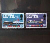 1967 - GB STAMPS -EFTA -- MNH