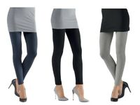 Womens Leggings Full Black Blue Navy Grey size 10 12 14 16 18 20 22 24 S M L XL