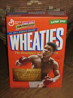 """Muhammad Ali Wheaties Cereal Boxs (2) 12oz. """"1999"""" (SEALED)  Collector's Item"""
