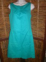 **NWT Ann Taylor Aqua Sleeveless Dress sz 6