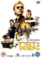 CSI: Crime Scene Investigation - Miami - Season 6 Part 1 [DVD] New & Sealed