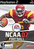NCAA Football 07 (Sony PlayStation 2, 2006)