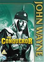 The Conqueror John Wayne DVD Susan Hayward New Sealed Original UK Release R2