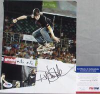 SWEET YOUNG Ryan Sheckler Signed SKATEBOARD 8x10 Photo #2 PSA/DNA Plan B X-GAMES