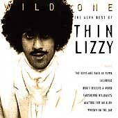 THIN LIZZY - WILD ONE - THE VERY BEST OF CD ALBUM (1996) - NEW - FREE FAST POST!