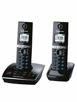 Panasonic KX-TG 8062 Twin Cordless Phone With Integrated Answering Machine New