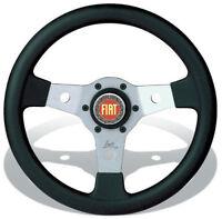 FIAT 500 F/L/R 126 EPOCA VOLANTE SPORTIVO LUISI FALCON 31cm 3 RAZZE + CLACSON