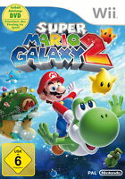 Super Mario Galaxy 2 (Nintendo Wii, 2010, DVD-Box)