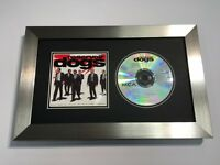 CD / Music Album Cover Memoribilia Frame Silver With 4 Mount Colours To Choose