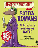 Horrible Histories Rotten Romans BRAND NEW BOOK by Terry Deary (Paperback, 2013)