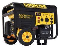 Champion Power Equipment 46565 4000 Watt 6.5 HP Generator