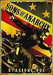 4 Dvd Box Cofanetto **SONS OF ANARCHY ♦ STAGIONE DUE 02** nuovo 2009