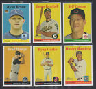 2006 2007 2008 Topps Heritage SP Short Prints Lot - You Pick Your Choice