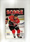 March 4th,2000 Score Ottawa Senators Magazine game vs Atlanta Thrashers
