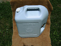 (4) Four  6 1/2 Gal. Water Storage Jugs/Cans for Disaster Survival Emergency