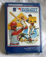 Major League Baseball Intellivision 1980 Complete in Box Manual Overlays SEALED!
