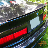 Painted Black Boot Lip Spoiler R For BMW 3 Series E92 Coupe 06-10