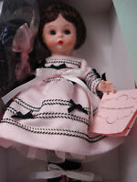 MADAME ALEXANDER DOLL PARTY DRESS WENDY 8""