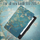 For All-New Kindle 8Th Generation Release Pu Leather Case With Auto Wake/Sleep F
