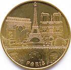 75015 PARIS PONT +3 MONUMENTS MÉDAILLE MONNAIE DE PARIS 2010 JETON TOKEN MEDALS