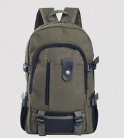 Outdoor Travel Sport Hiking Rucksack Men Backpack Casual Canvas School Bag Male