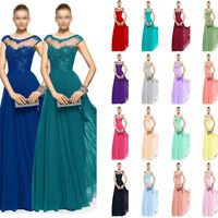 Chiffon/lace New Arrival Evening Prom Party Dress Bridesmaid Dresses Size 6+++18