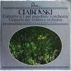 TCHAIKOVSKY PIANO CONCERTO No.1 VIOLIN CONCERTO AUCLAIR KLEIN LP FONTANA
