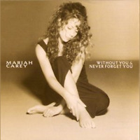 Without You & Never Forget You - Carey, Mariah - Used Single - CD
