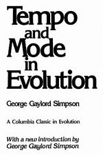 Tempo and Mode in Evolution (The Columbia Classics in Evolution), Simpson, Georg