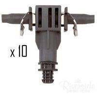 Gardena 8344-20 4.6mm Inline Drip Head Tee 4L/H x10 Irrigation