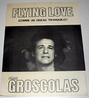 Partition vintage music sheet PIERRE GROSCOLAS : Flying Love * 70's * BE