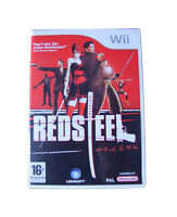 Nintendo Wii Game Pal RED STEEL with Box Instructions VCG