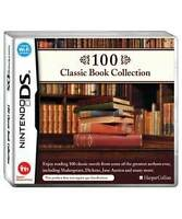 Nintendo DS Pal Game 100 CLASSIC BOOK COLLECTION with Box Instructions NEW
