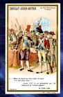 chromo GUERIN-BOUTRON Histoire LOUIS XVI GRENADIER 1792 Old Trade card Baïonette