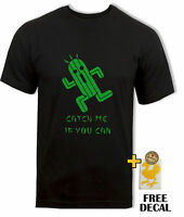 Cactuar Final Fantasy T-Shirt, FF running cactus catch me if you can for unisex