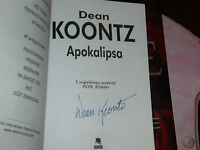 THE TAKING SIGNED BY DEAN KOONTZ 2006 POLISH 1ST EDITION