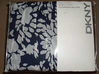 DKNY INDIGO FLOWERING WILLOW FULL QUEEN DUVET COVER SHAMS PILLOW 4PC SET~NEW