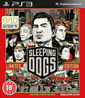 Sleeping Dogs - PS3 Playstation 3, Tested, Instructions, & With Code