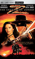 The Legend of Zorro UMD Movie Sony Playstation PSP Tested Disc Only Free Ship!