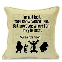 Winnie The Pooh Gifts for Kids Boys Girls Children Teens Cushion Cover #78