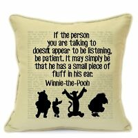 Winnie The Pooh Gifts for Kids Boys Girls Children Teens Cushion Cover #42