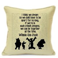 Winnie The Pooh Gifts for Kids Boys Girls Children Teens Cushion Cover #35