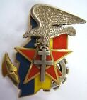 Insigne 1° SPAHI CAVALERIE OPERATION EPERVIER OPEX TCHAD AFRIQUE 1993 ORIGINAL